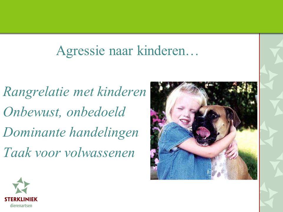 Agressie naar kinderen…