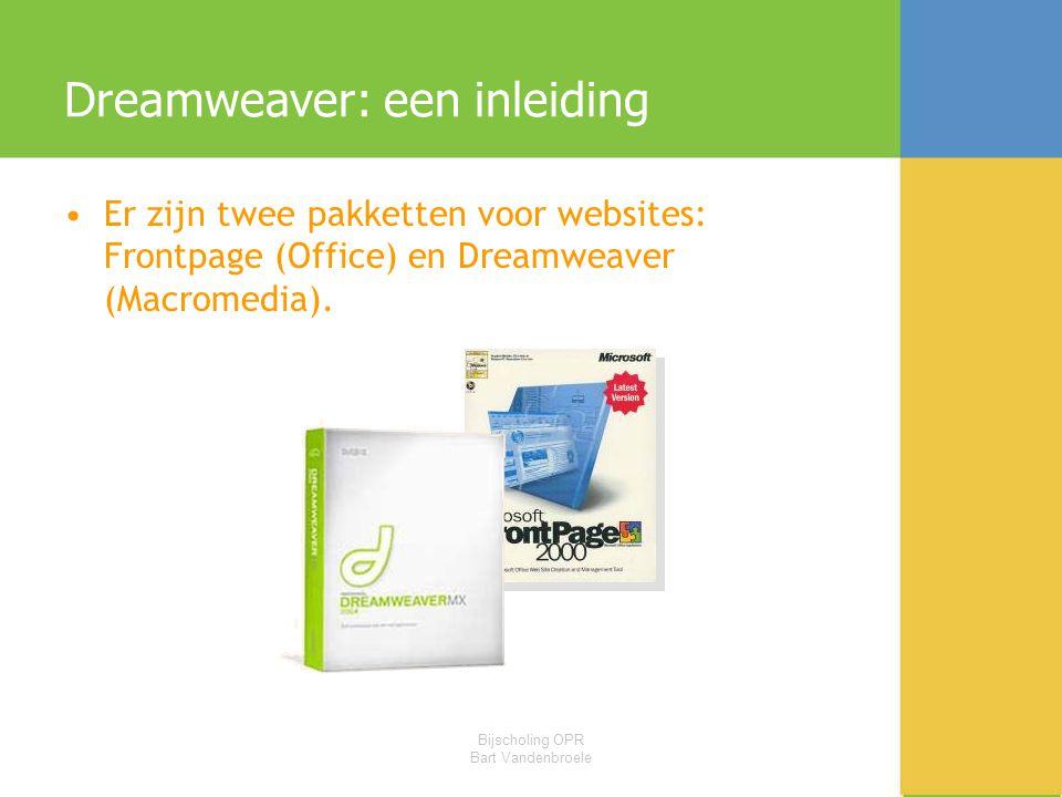 Dreamweaver: een inleiding