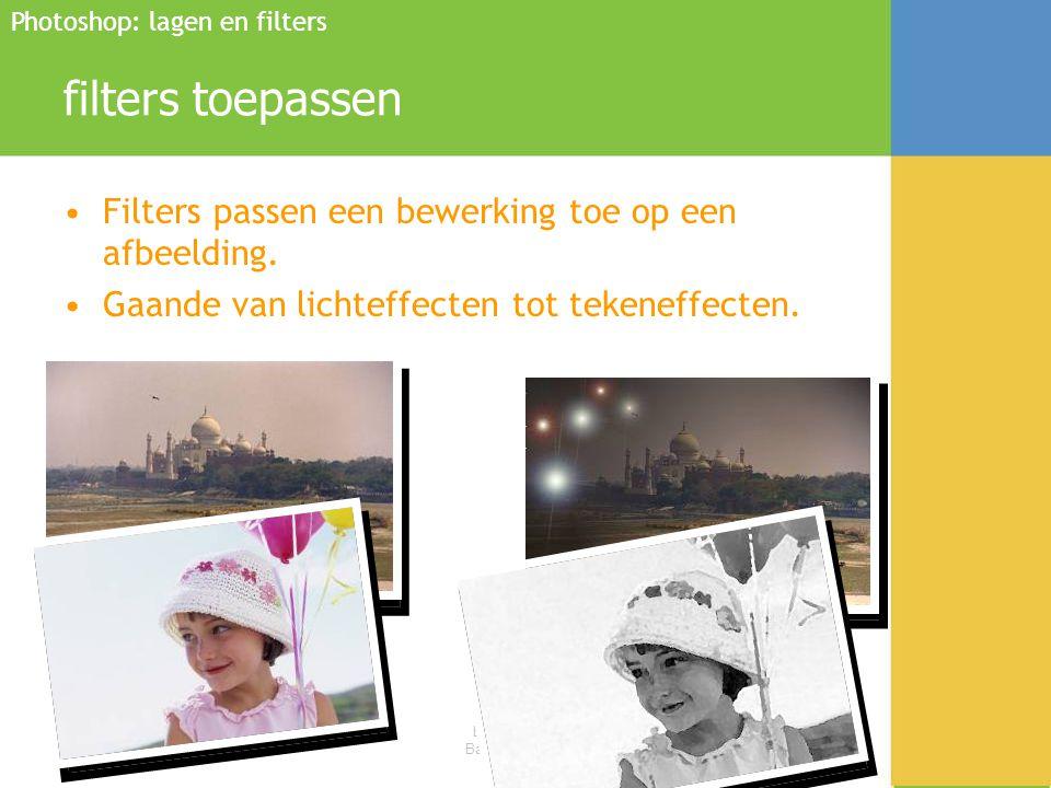 filters toepassen Filters passen een bewerking toe op een afbeelding.