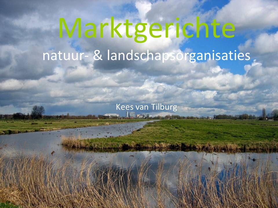 Marktgerichte natuur- & landschapsorganisaties Kees van Tilburg
