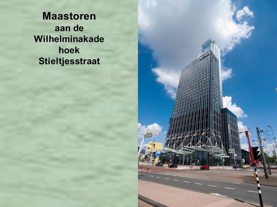 Maastoren aan de Wilhelminakade hoek Stieltjesstraat