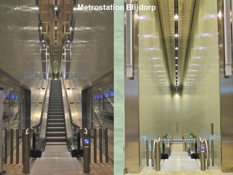 Metrostation Blijdorp