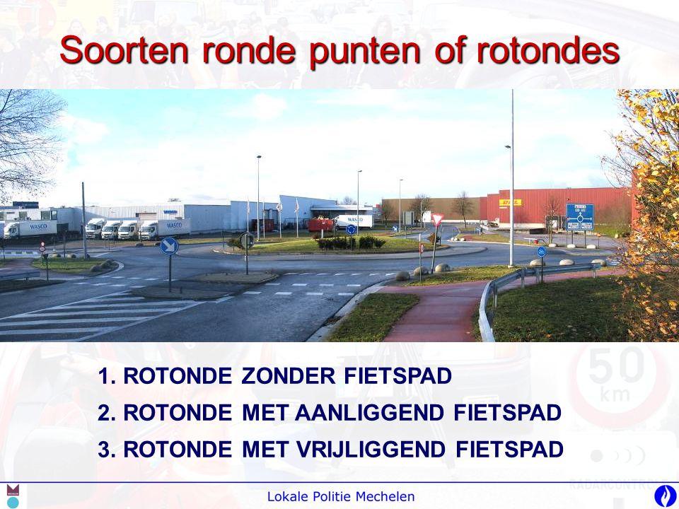 Soorten ronde punten of rotondes