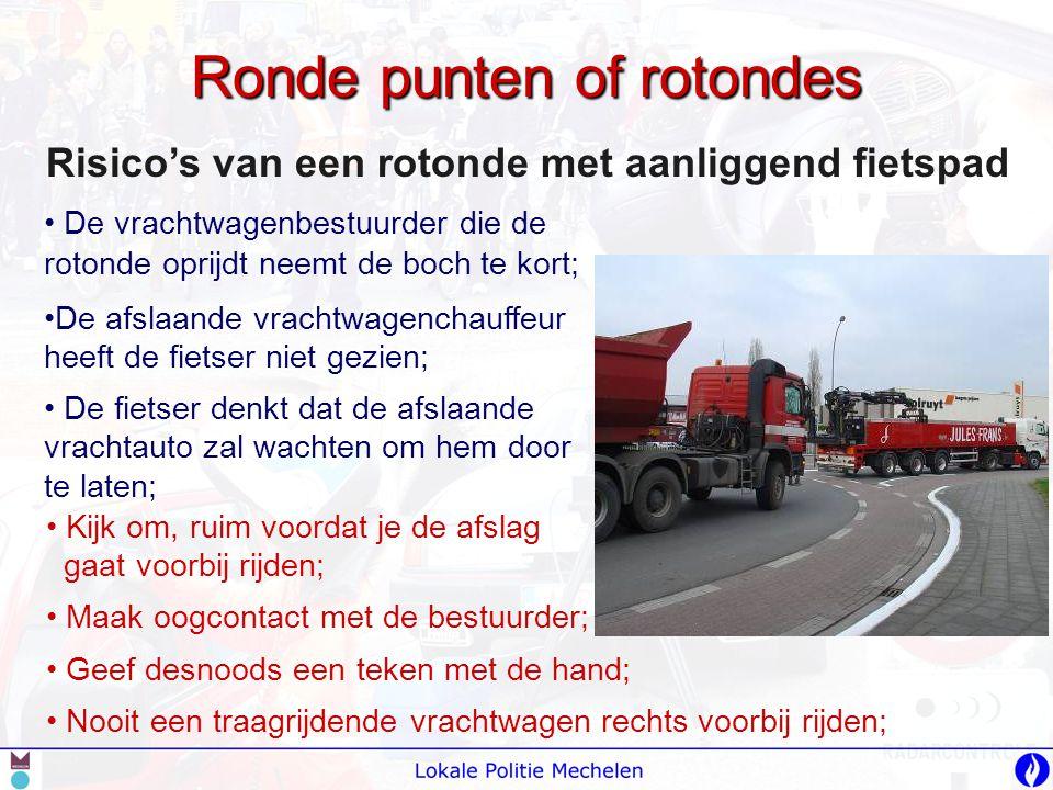 Ronde punten of rotondes