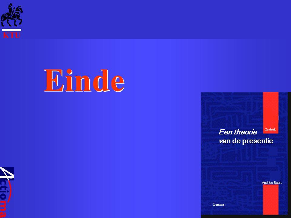 Einde Een theorie van de presentie Andries Baart Lemma 2e druk 22