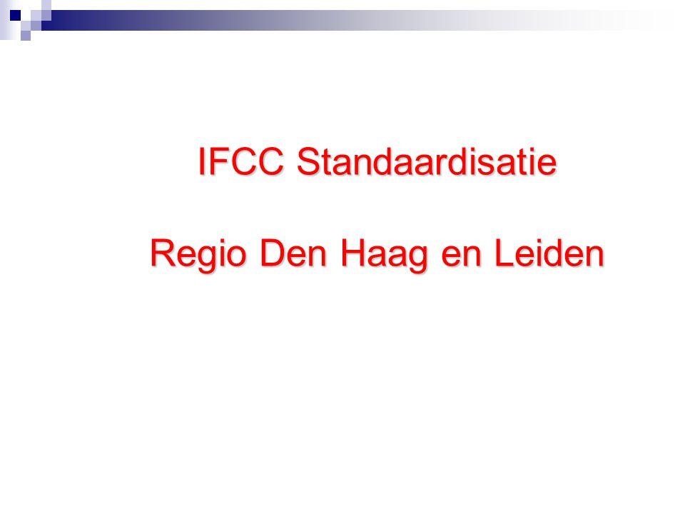 IFCC Standaardisatie Regio Den Haag en Leiden