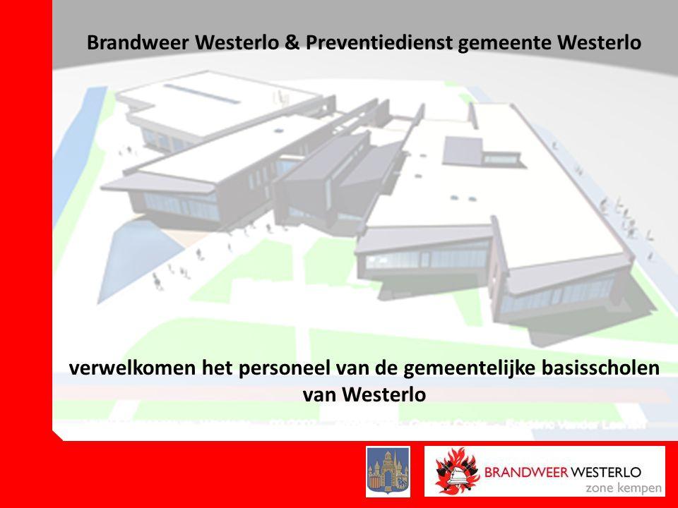 Brandweer Westerlo & Preventiedienst gemeente Westerlo