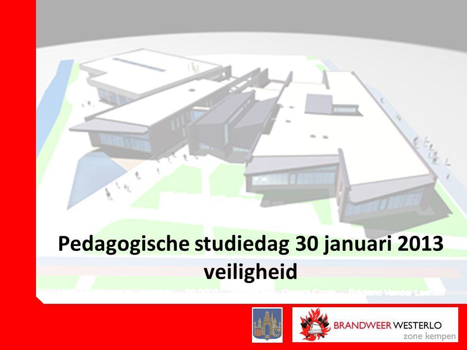 Pedagogische studiedag 30 januari 2013 veiligheid