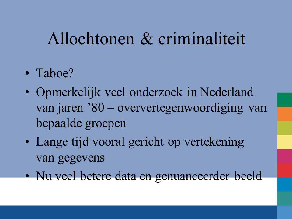 Allochtonen & criminaliteit