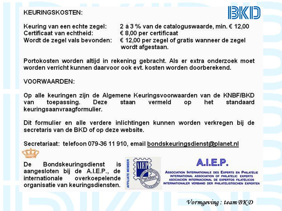Vormgeving : team BKD