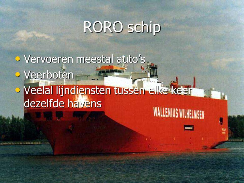 RORO schip Vervoeren meestal auto's Veerboten