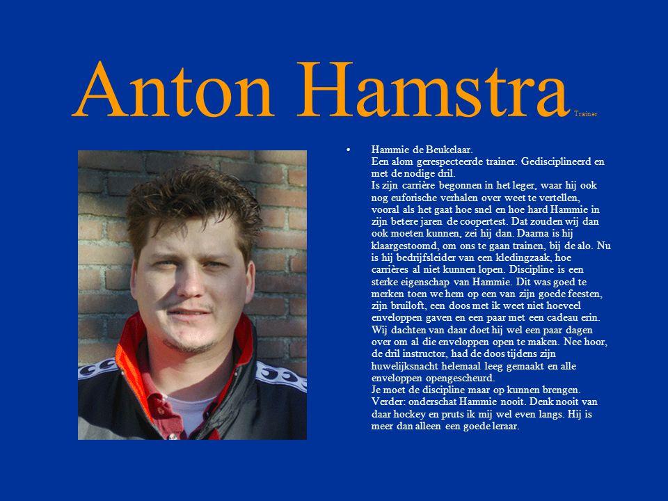 Anton Hamstra Trainer