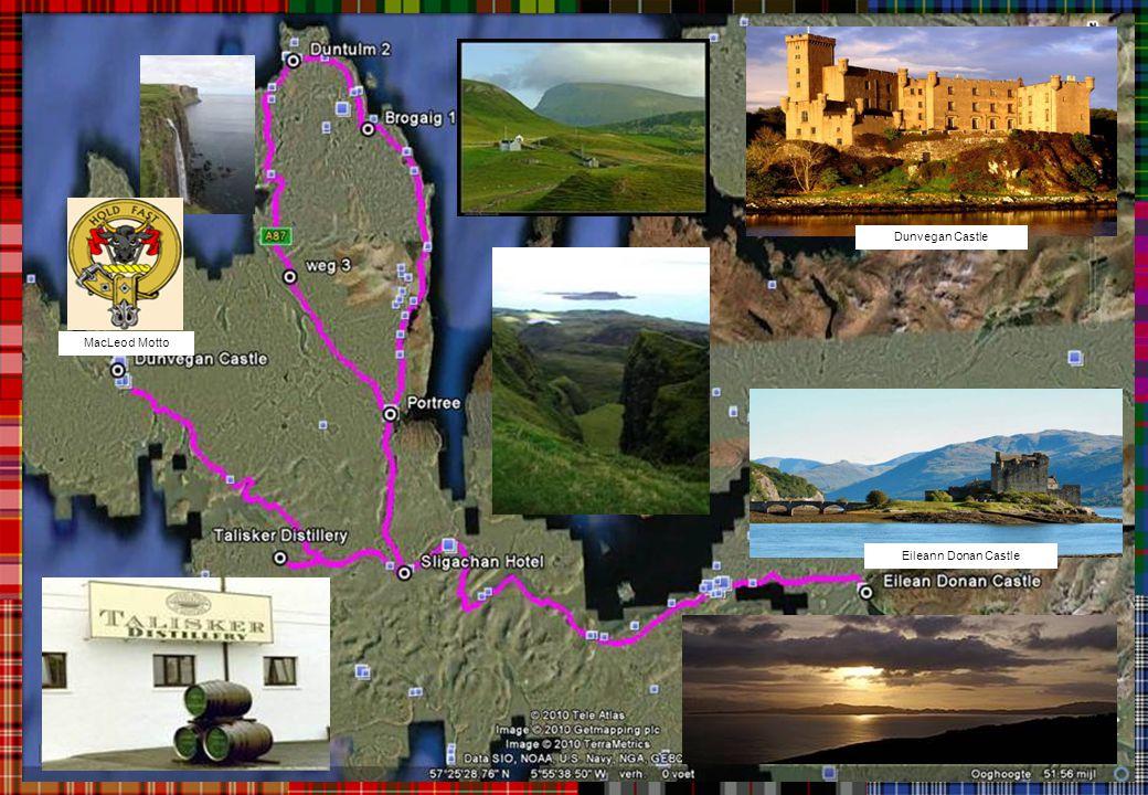 Dunvegan Castle MacLeod Motto Eileann Donan Castle