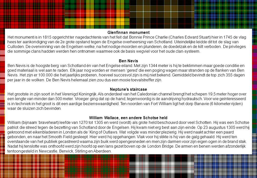 William Wallace, een andere Schotse held