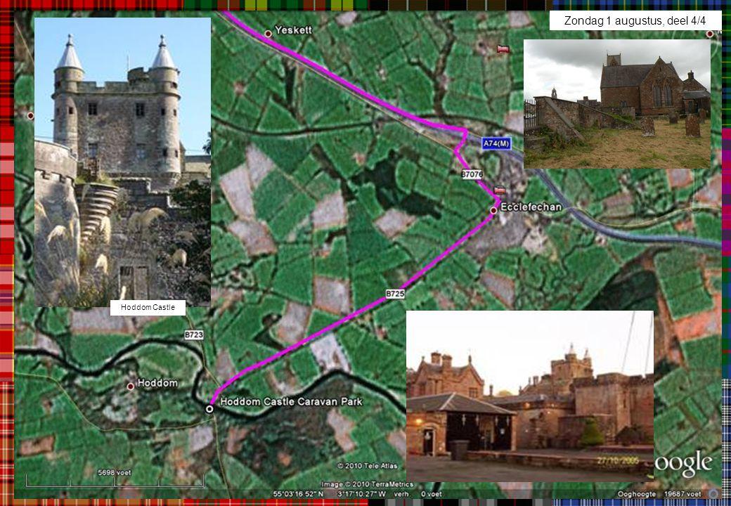 Zondag 1 augustus, deel 4/4 Hoddom Castle