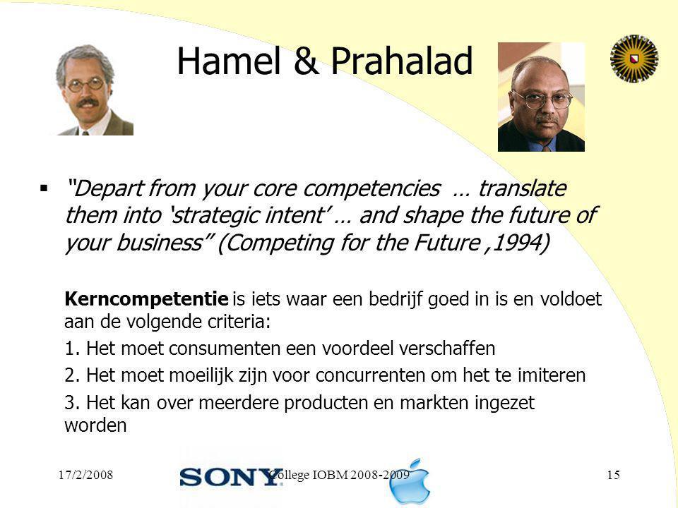 Hamel & Prahalad