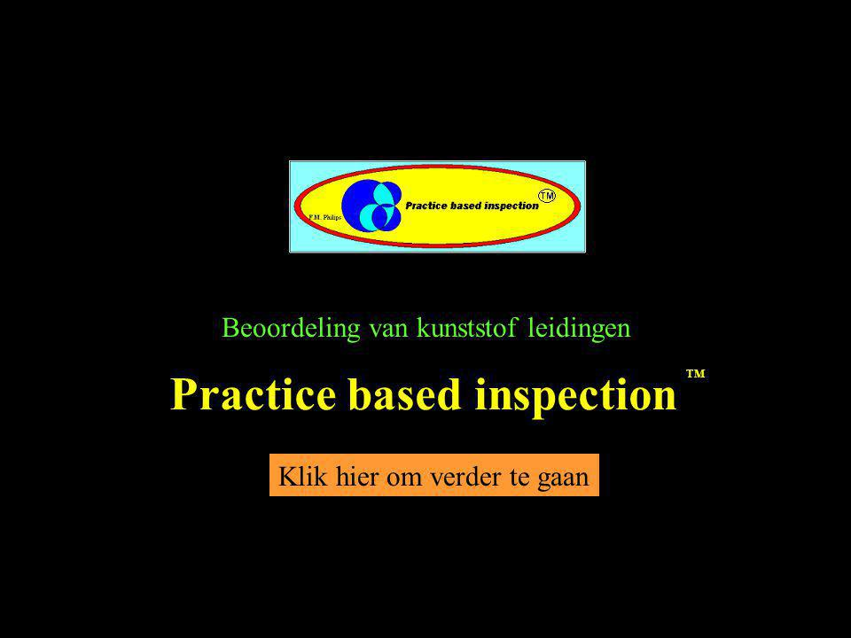 Practice based inspection