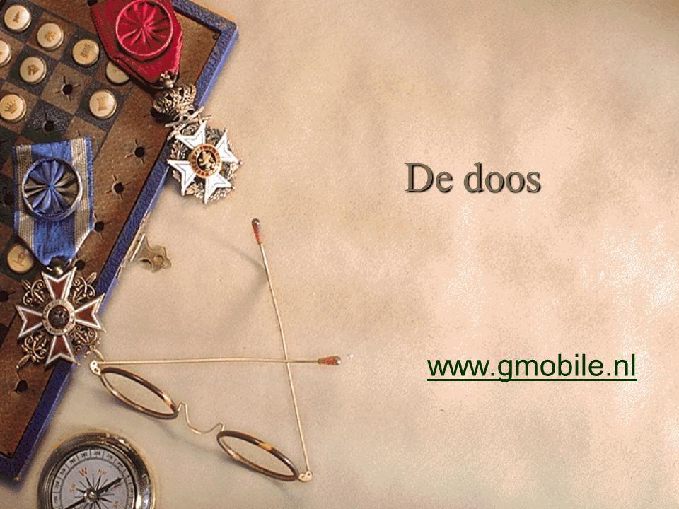 De doos www.gmobile.nl