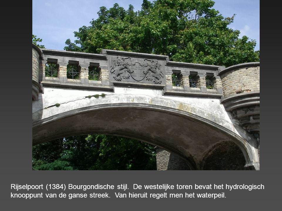 Rijselpoort (1384) Bourgondische stijl