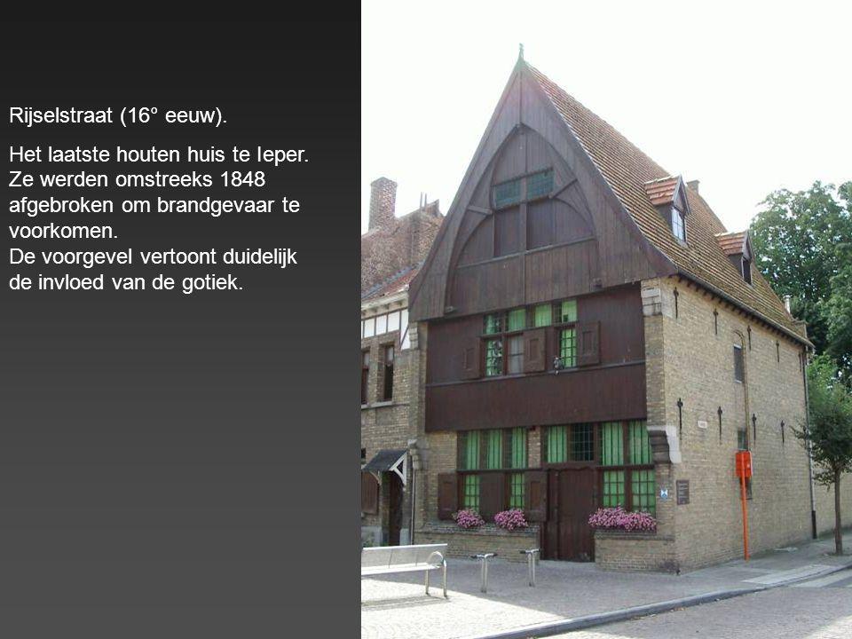 Rijselstraat (16° eeuw).