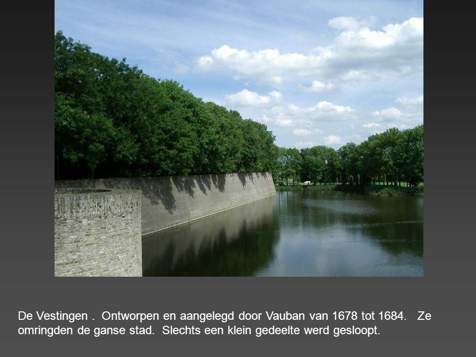 De Vestingen. Ontworpen en aangelegd door Vauban van 1678 tot 1684