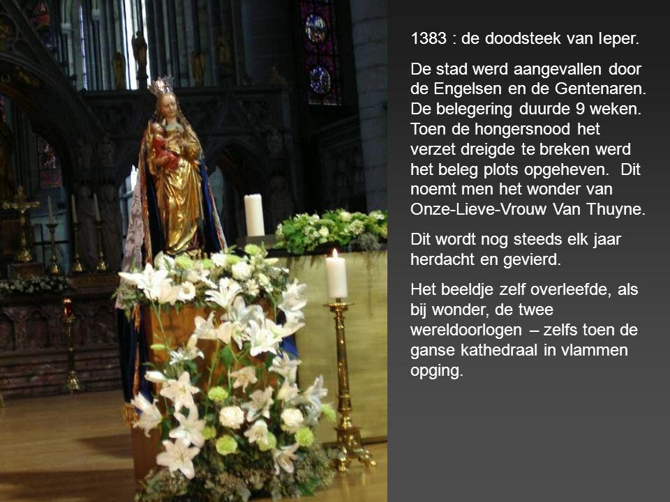 1383 : de doodsteek van Ieper.