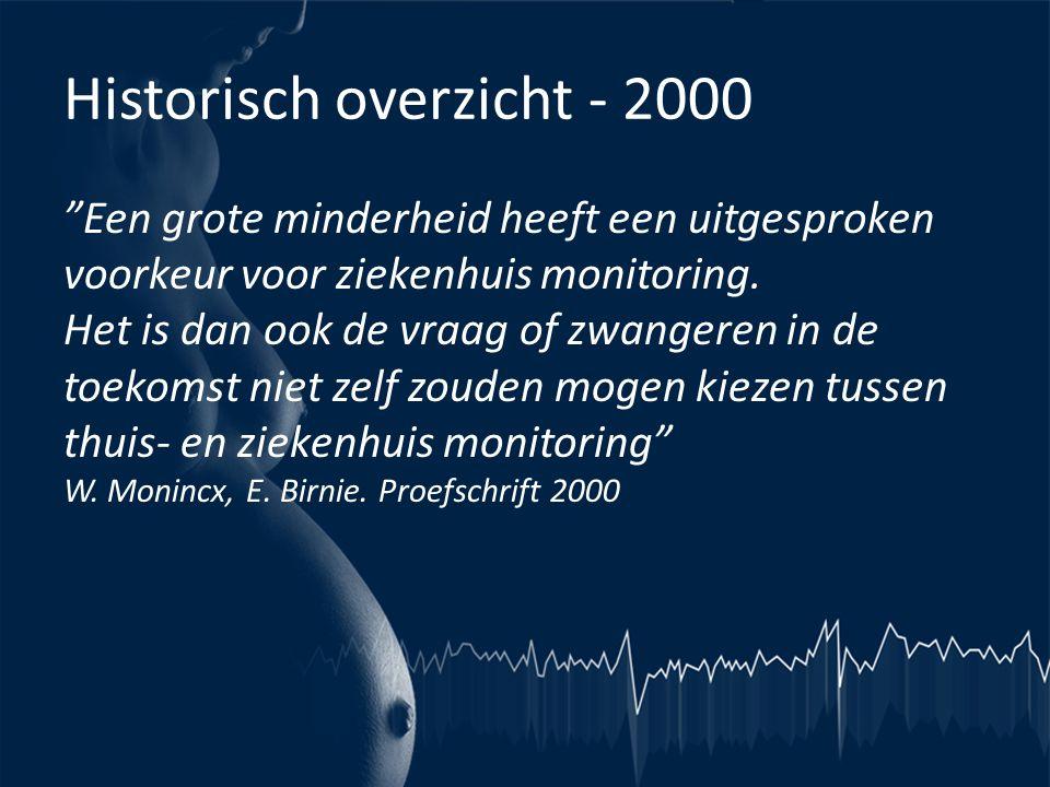Historisch overzicht - 2000