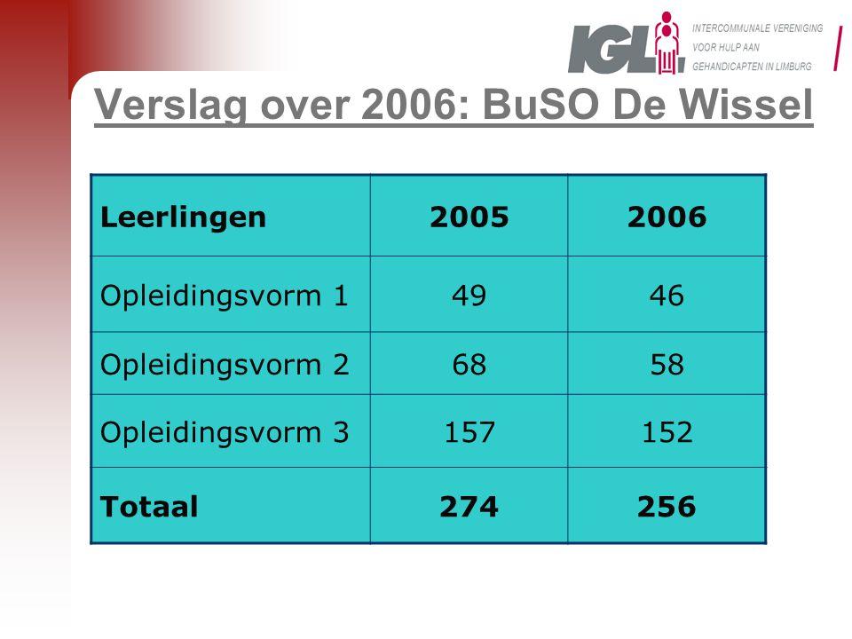 Verslag over 2006: BuSO De Wissel