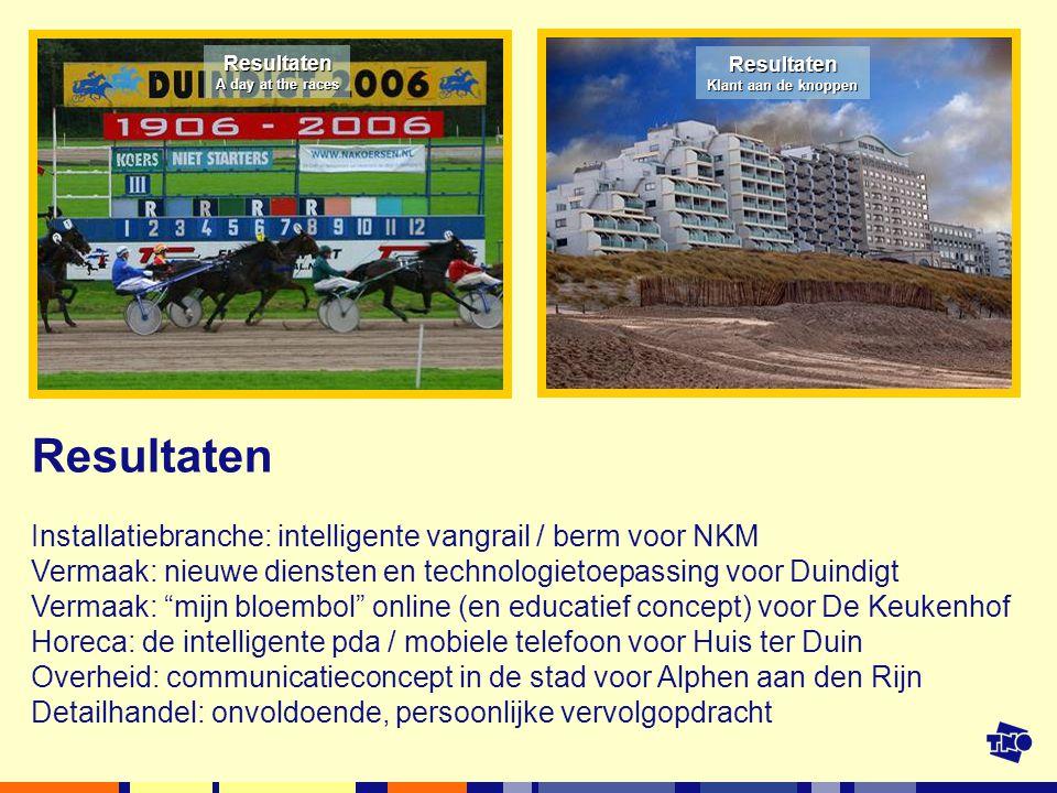 Resultaten Installatiebranche: intelligente vangrail / berm voor NKM