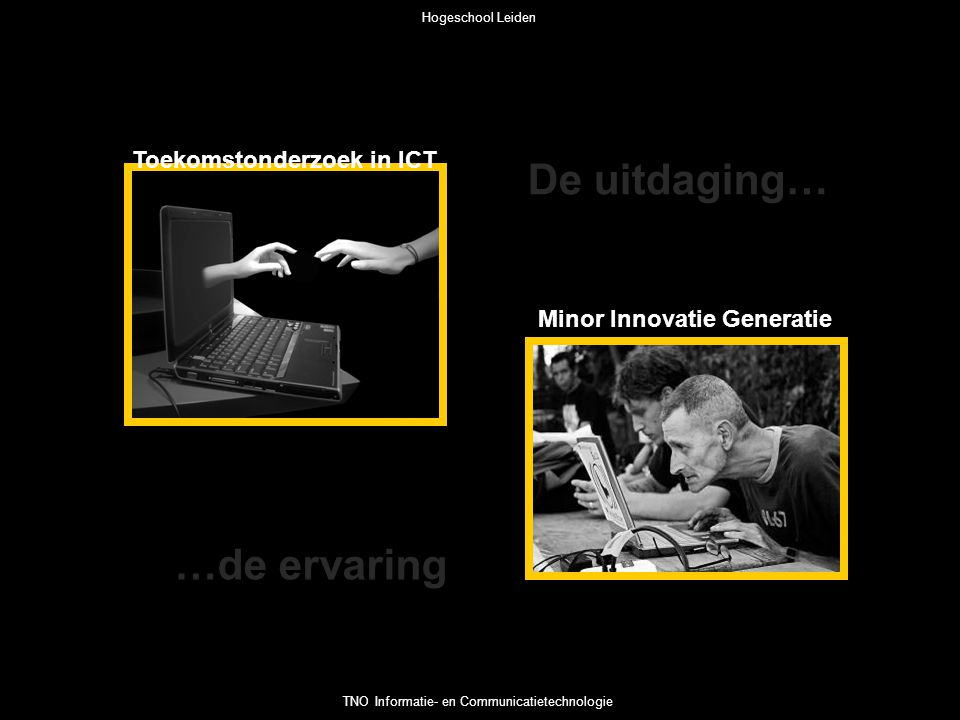 Toekomstonderzoek in ICT Minor Innovatie Generatie