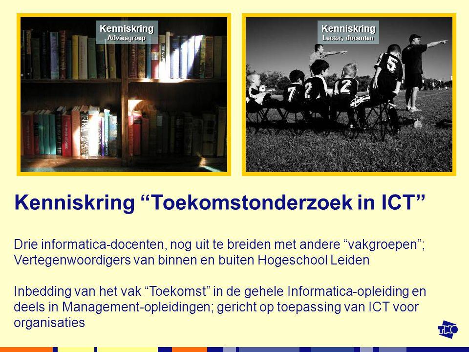 Kenniskring Toekomstonderzoek in ICT