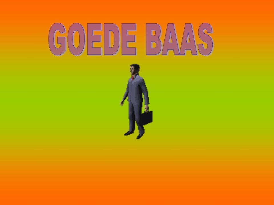 GOEDE BAAS