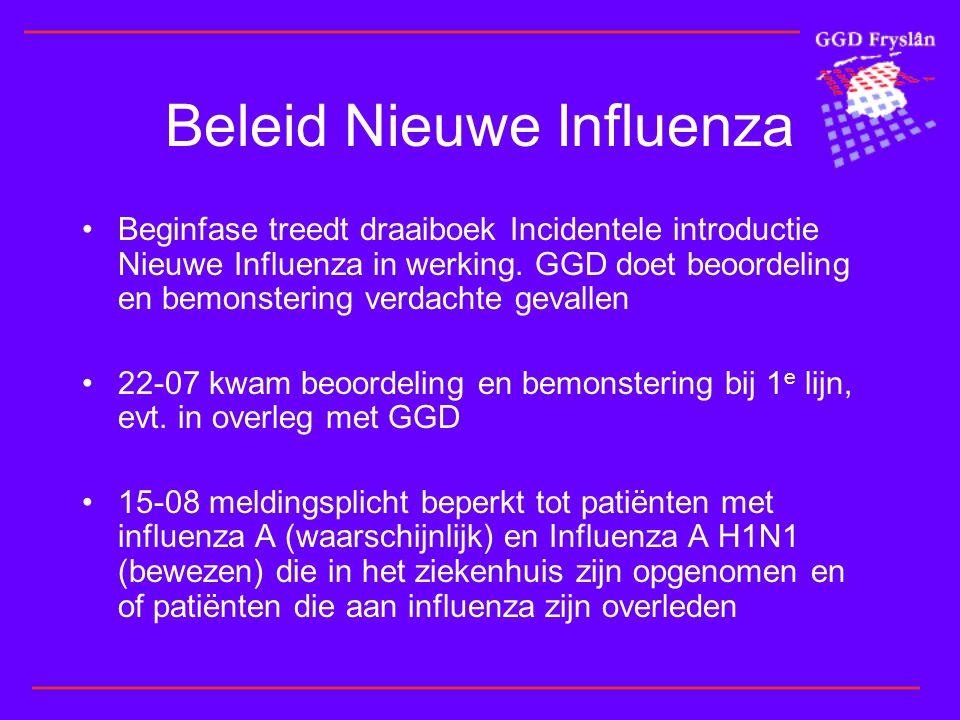 Beleid Nieuwe Influenza