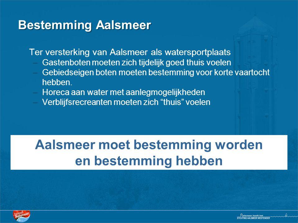 Aalsmeer moet bestemming worden