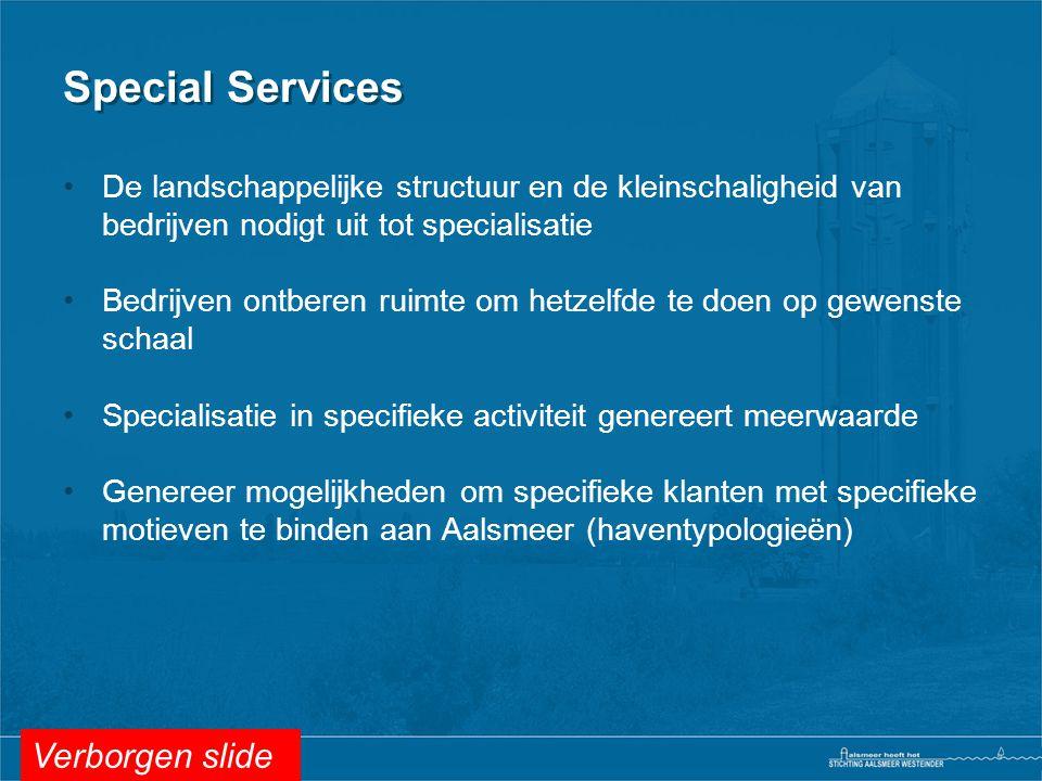 Special Services Verborgen slide