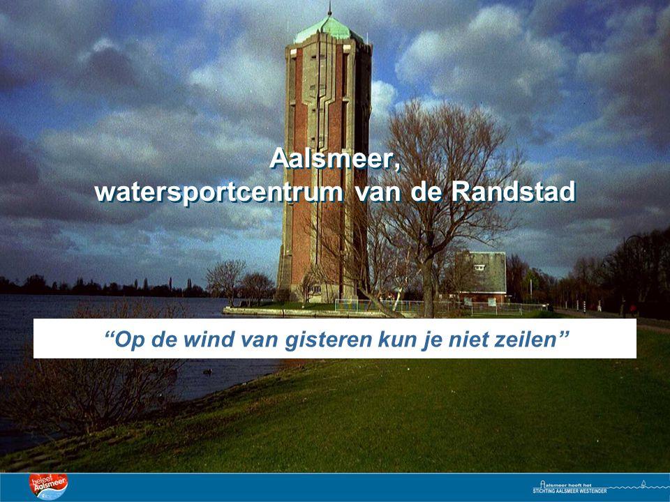 Aalsmeer, watersportcentrum van de Randstad