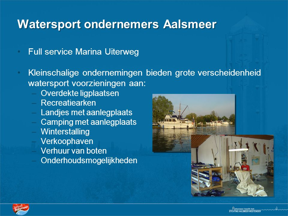 Watersport ondernemers Aalsmeer