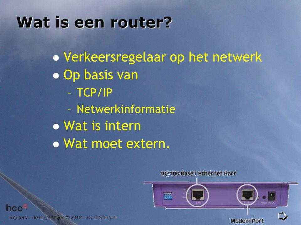 Wat is een router Verkeersregelaar op het netwerk Op basis van