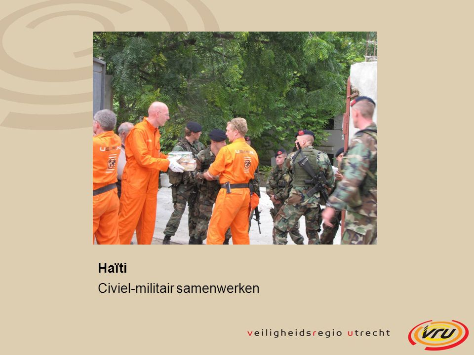Haïti Civiel-militair samenwerken