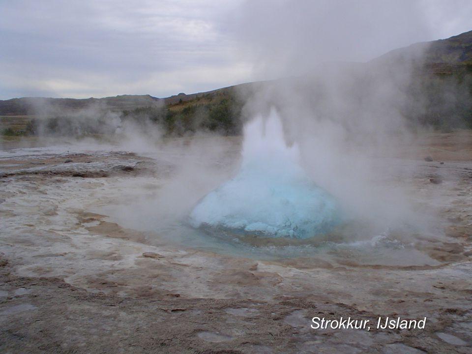 Strokkur, IJsland