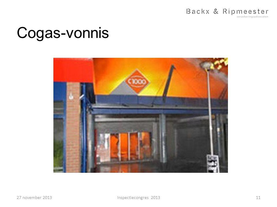 Cogas-vonnis 27 november 2013 Inspectiecongres 2013