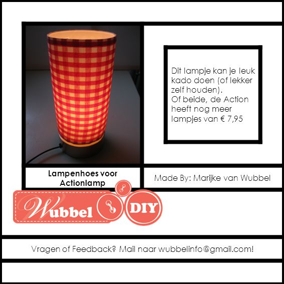 Lampenhoes voor Actionlamp