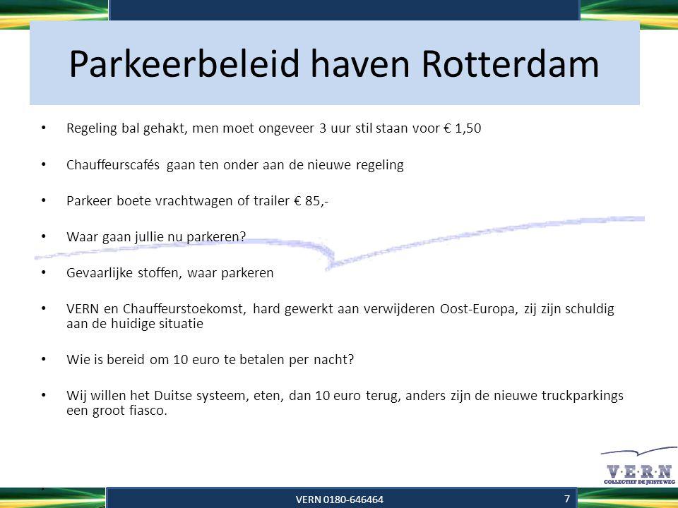 Parkeerbeleid haven Rotterdam