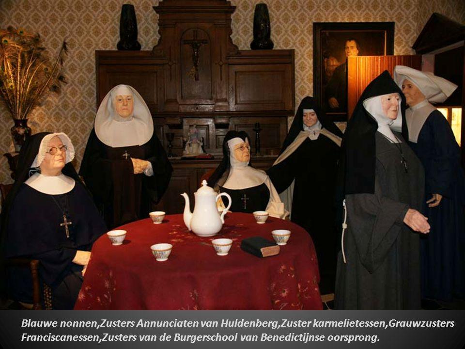 Blauwe nonnen,Zusters Annunciaten van Huldenberg,Zuster karmelietessen,Grauwzusters