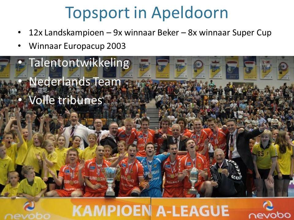 Topsport in Apeldoorn Talentontwikkeling Nederlands Team