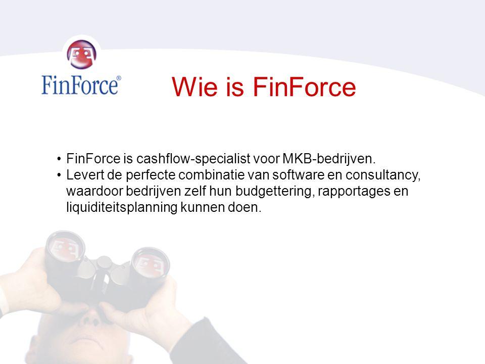 Wie is FinForce FinForce is cashflow-specialist voor MKB-bedrijven.