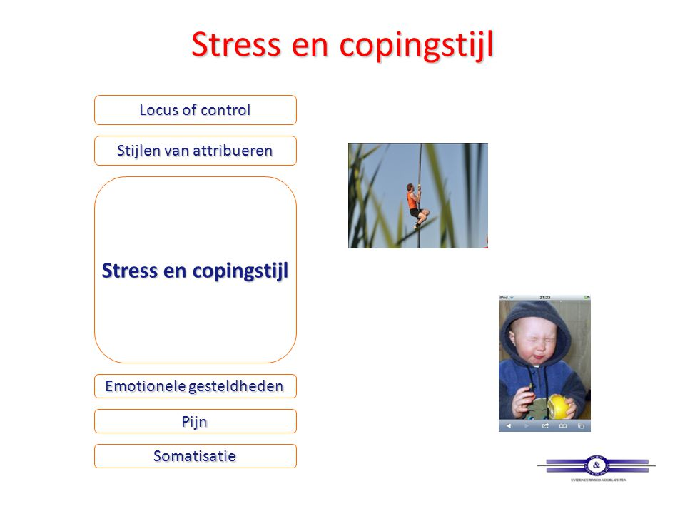 Stress en copingstijl Stress en copingstijl Locus of control