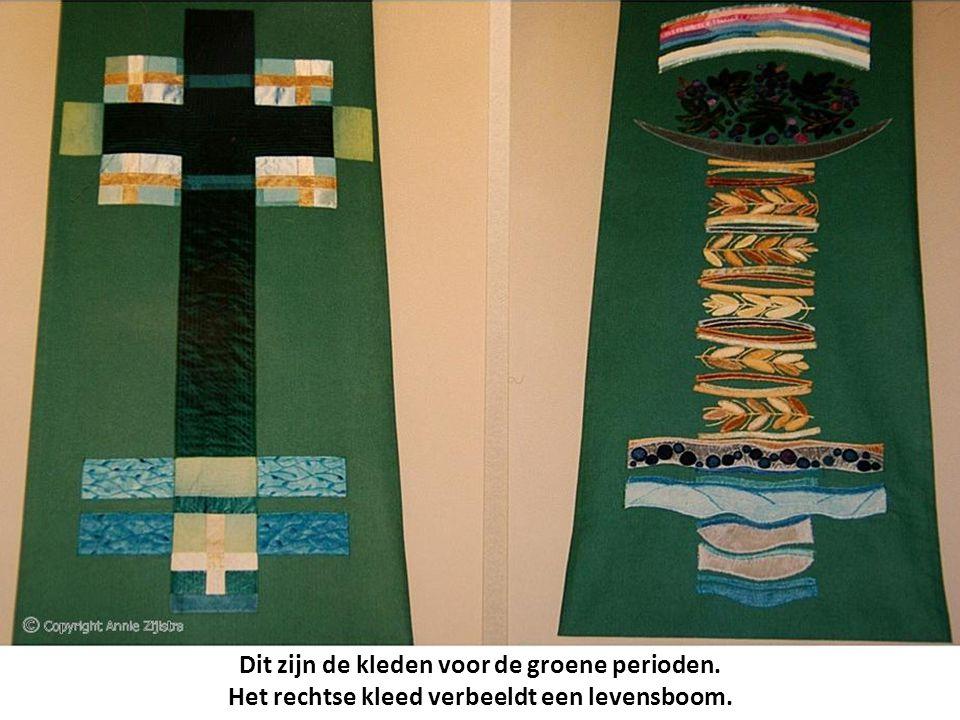 Dit zijn de kleden voor de groene perioden