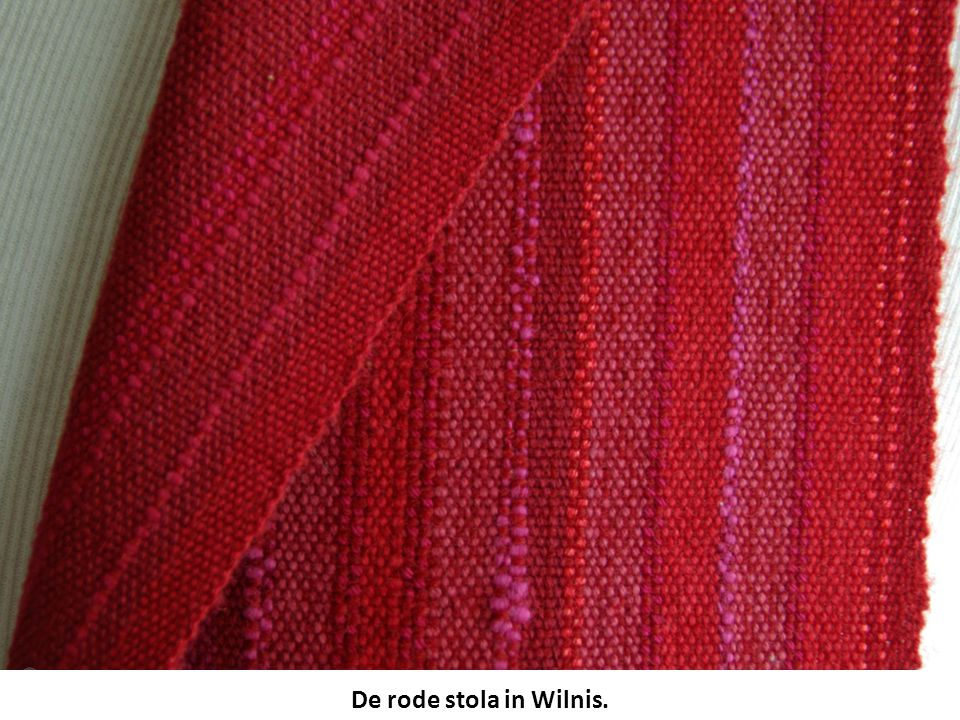 De rode stola in Wilnis.