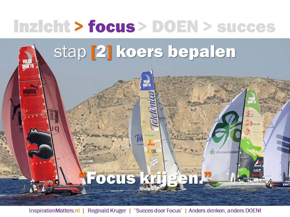 inzicht inzicht > focus > focus > DOEN > succes